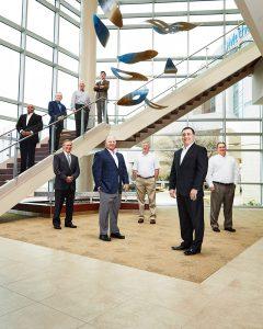 Executive group portrait Dallas Texas