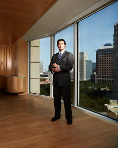 Amazing executive portrait downtown Dallas Texas