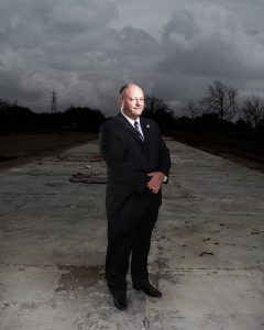 Editorial portrait of Texas State Fire Marshal