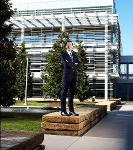Dynamic executive portrait Richardson Texas