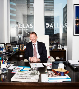 Dallas executive editorial portrait