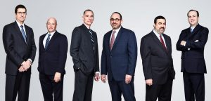 group portrait of accounting firm leaders Dallas Texas