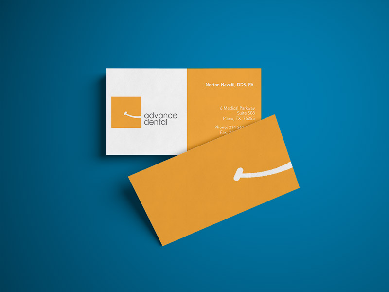 Logo and business card design Dallas Texas