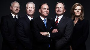 Bold expressive executive and board members group portrait Dallas Texas